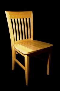 grenen stoelen